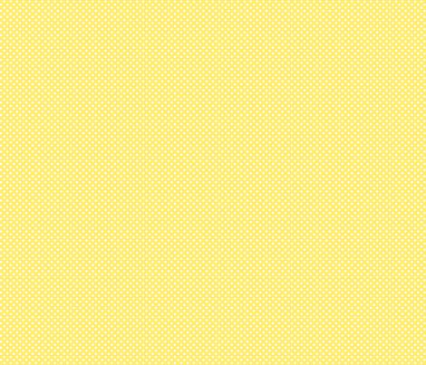 mini polka dots 2 lemon yellow fabric by misstiina on Spoonflower - custom fabric