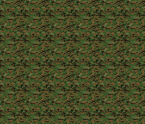 1/6th Scale MARPAT Woodland fabric by ricraynor on Spoonflower - custom fabric