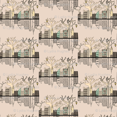 new york toile fabric lydia may spoonflower. Black Bedroom Furniture Sets. Home Design Ideas