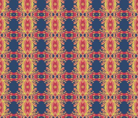 Lilly Mirror-ch fabric by lil_bit_brit on Spoonflower - custom fabric
