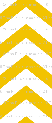 chevron mustard yellow