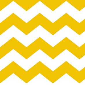 chevron lg mustard yellow