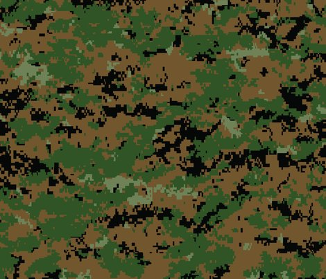 marine marpat digital woodland camo wallpaper ricraynor spoonflower