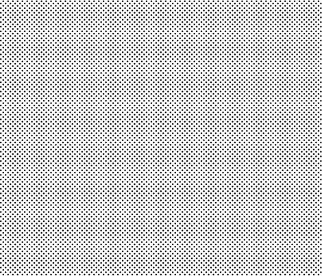 mini polka dots black fabric by misstiina on Spoonflower - custom fabric