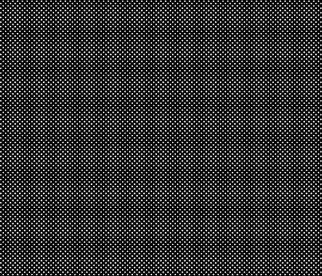 mini polka dots 2 white on black fabric by misstiina on Spoonflower - custom fabric
