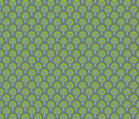 Birds in the tree (Flights of Fancy) fabric by sarah_twist on Spoonflower - custom fabric