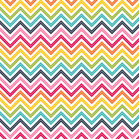 live free : love life chevron 2 fabric by misstiina on Spoonflower - custom fabric