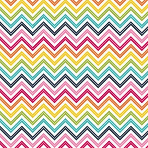 live free : love life chevron 2 rainbow