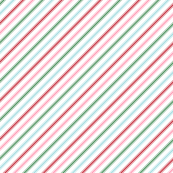Christmas Candy Cane Stripes Multi Wallpaper