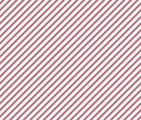 christmas candy cane stripes red fabric by misstiina on Spoonflower - custom fabric