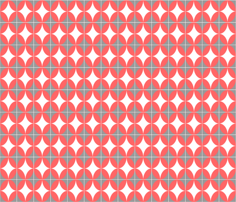 Oval Grid fabric by weatherkim on Spoonflower - custom fabric