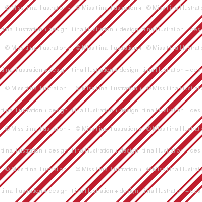 christmas candy cane stripes red LG