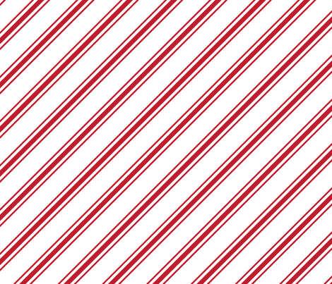 christmas candy cane stripes red LG fabric by misstiina on Spoonflower - custom fabric