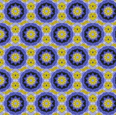 Kaleidescope 0856 fabric by wyspyr on Spoonflower - custom fabric