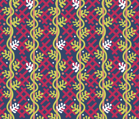 Matisse Vines fabric by abqdesign on Spoonflower - custom fabric