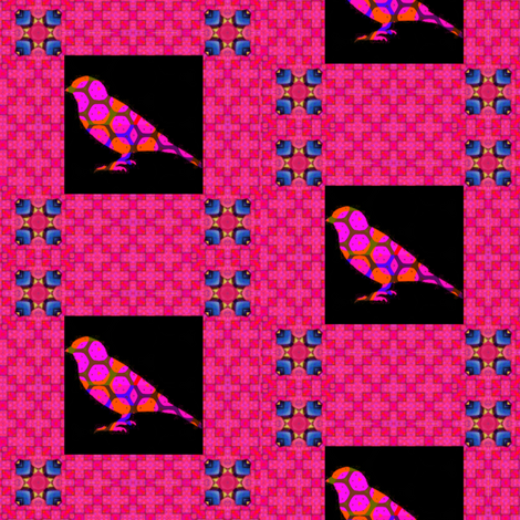Bird Songs 20 -  Duets - Flights of Fancy 3 fabric by dovetail_designs on Spoonflower - custom fabric