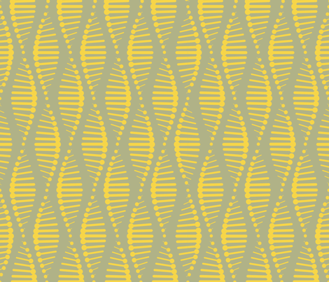 Gene Splicing - Sunny fabric by chris_jorge on Spoonflower - custom fabric