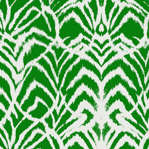 Wild Ikat Emerald