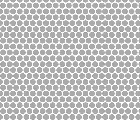 Milledotti (gray) fabric by pattern_bakery on Spoonflower - custom fabric