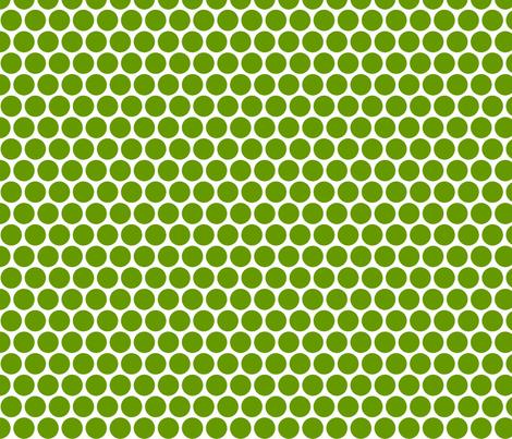 Milledotti (green) fabric by pattern_bakery on Spoonflower - custom fabric
