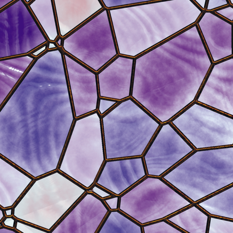 Stained Glass 3 fabric by animotaxis on Spoonflower - custom fabric