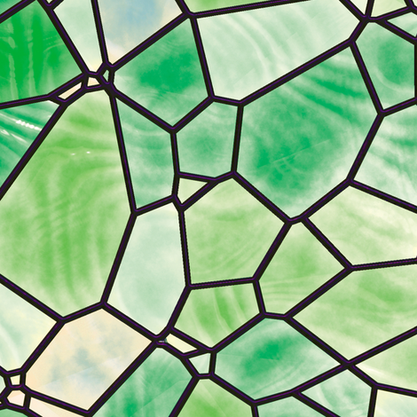 Stained Glass 4 fabric by animotaxis on Spoonflower - custom fabric