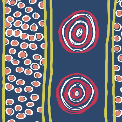 Matisse 3: On Target fabric by tallulahdahling on Spoonflower - custom fabric