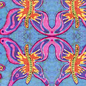 Groovy Butterfly Batik