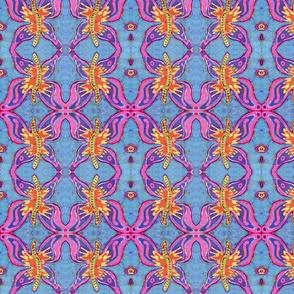 Groovy Butterfly Batik- smaller