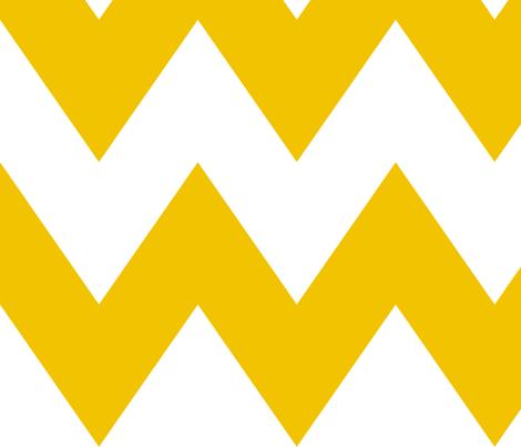 chevron xl mustard yellow fabric by misstiina on Spoonflower - custom fabric