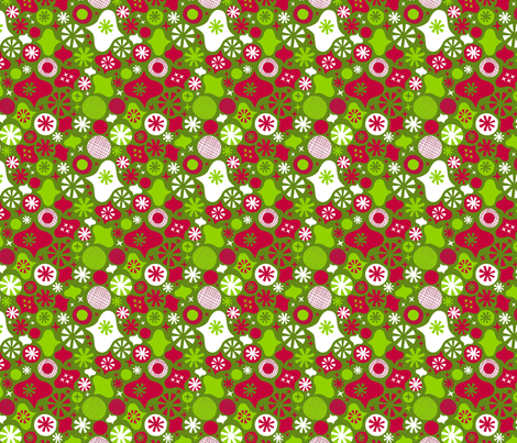 Holiday Jazzicals fabric by acbeilke on Spoonflower - custom fabric