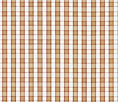 the simple tan check fabric by nascustomlife on Spoonflower - custom fabric