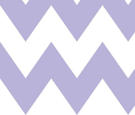 chevron xl light purple fabric by misstiina on Spoonflower - custom fabric