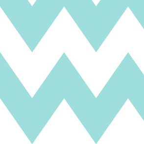 chevron xl light teal