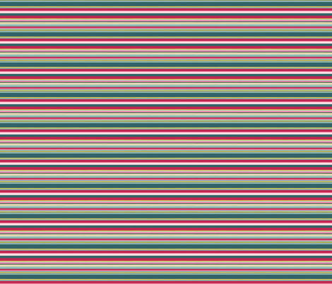 Pink Green Gold stripe - complementary fabric fabric by gail_mcneillie on Spoonflower - custom fabric