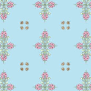 Fabric_kolam_dot_blue