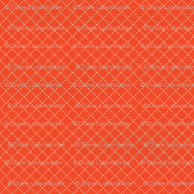 Red Geometric Lines