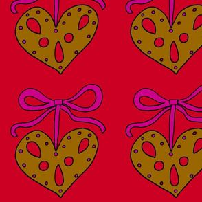 Gingerbread_Heart_Bow