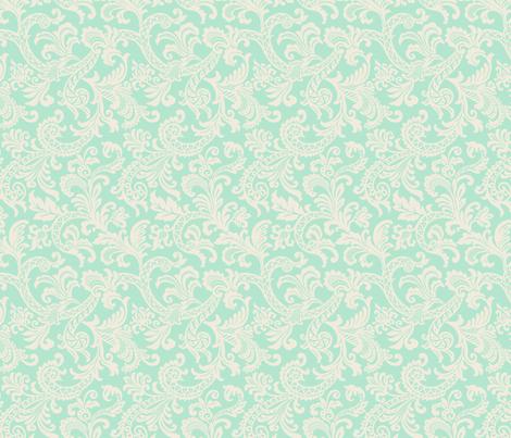 Tiffani Paisley fabric by littlerhodydesign on Spoonflower - custom fabric