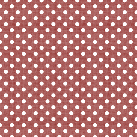 Vintage Christmas Polka Dots fabric by kristopherk on Spoonflower - custom fabric