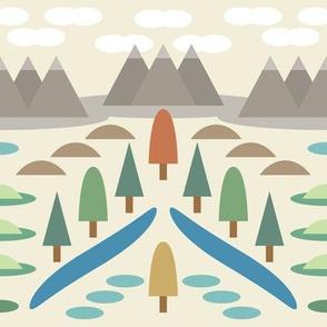 The Wilderness Pattern
