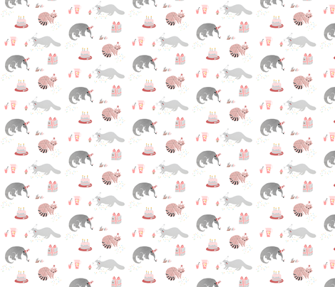 Party Animals fabric by lisa_manuels on Spoonflower - custom fabric