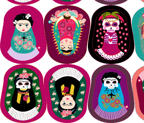 GURUSHKAS ♥ 2012 fabric by gurumania on Spoonflower - custom fabric