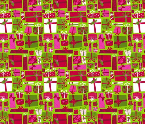 Prezzies fabric by acbeilke on Spoonflower - custom fabric