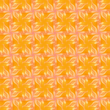 Nature Nurturing the Spark of Life tile03o12 fabric by whimsikate on Spoonflower - custom fabric