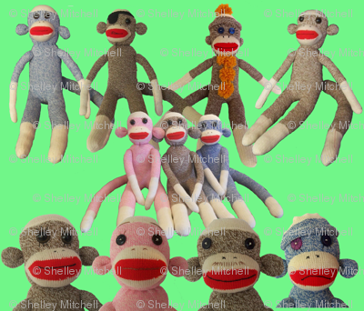 Sock Monkey party