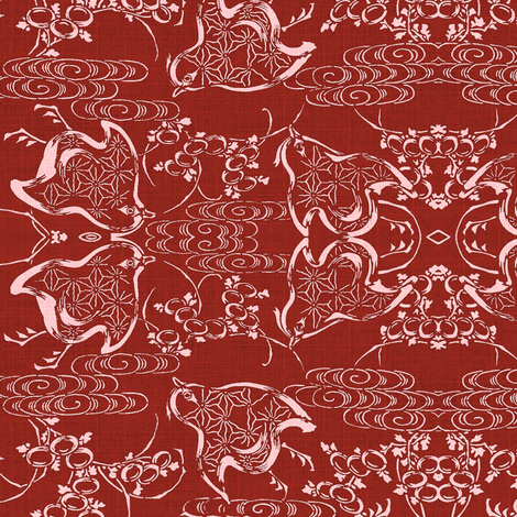 Chicks fabric by materialsgirl on Spoonflower - custom fabric