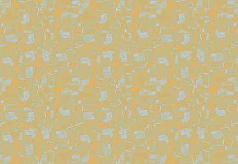Villa Abstract Green Gold Tonal Solid fabric by dorothyfaganartist on Spoonflower - custom fabric