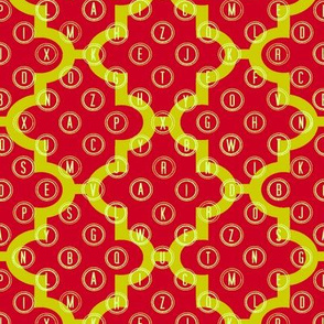 Alphabet Ogee