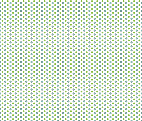 Sunny Flight Polka-Dots  fabric by diane555 on Spoonflower - custom fabric